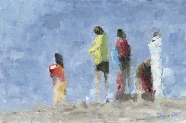 Figures on the Beach B   $430